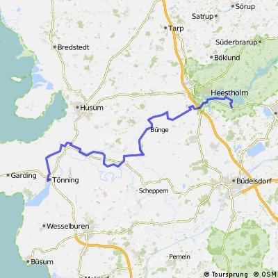 Wikingerweg - Von Tönning nach Güby