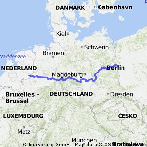 Europaroute D3 (D-Netz-Route 3)
