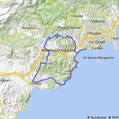 La Route du Mimosa  (T3)