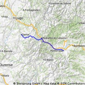 Etappe 10: Ponferrada - Sarria