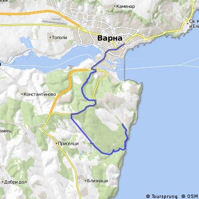 Varna Pasha Dere Bikemap Your Bike Routes