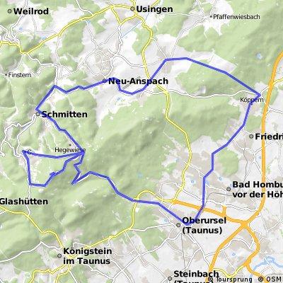 Feldberg Runde 1400hm