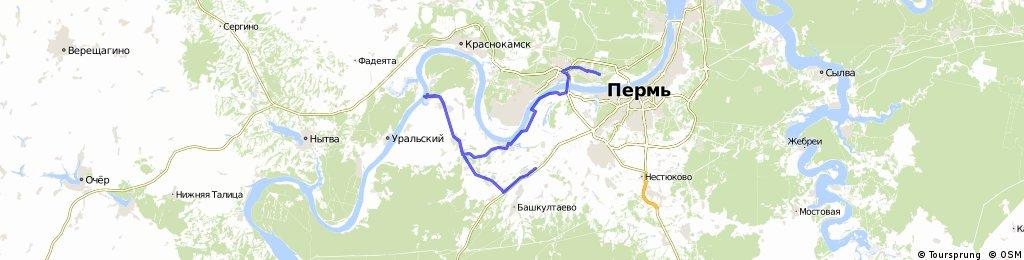 [велоформат] Пермь-Усть-Качка 2015