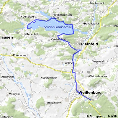 Weißenburg Brombachsee Langlau
