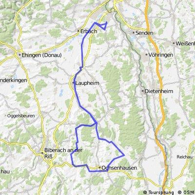 Wiblingen-Ochsenhausen über Ringschnait