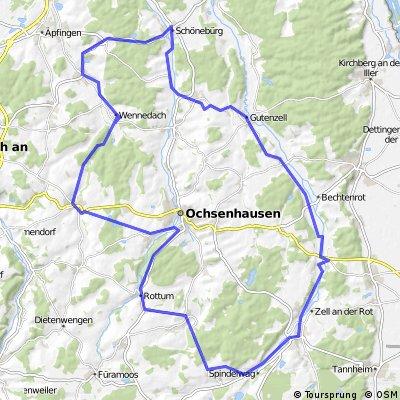 Zwischen Heggbacher Wald und langem Ghau
