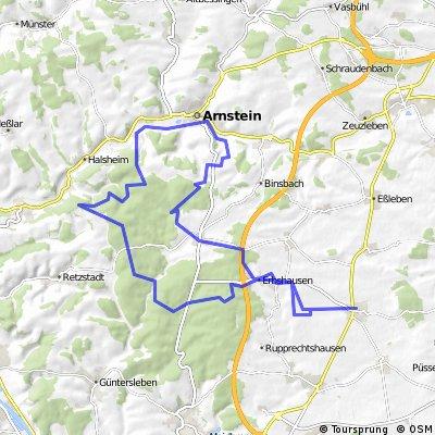 Bergtheim - Einsiedel - Arnstein