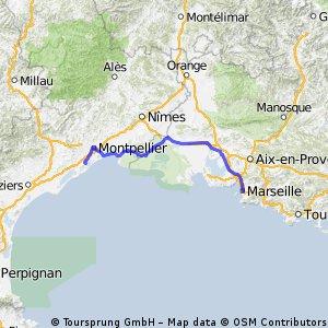 Montpellier - Marsella