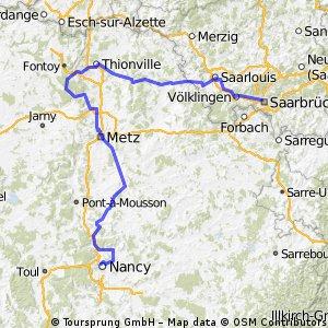 Tour de France Etape 2 Sarrebruck-Nancy