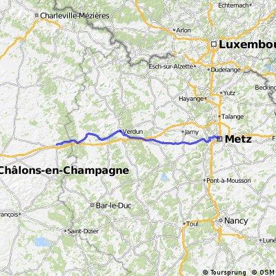 Tour de France Etape 2 Metz-Chalons en Champagne