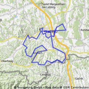 Leibnitz 2012 Weinstrassentour Bikemap