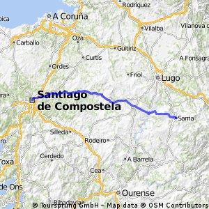 Etappe 11: Sarria - Santiago