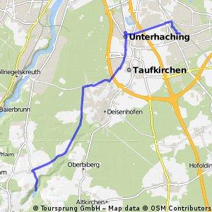 Home to Deiningerweiher via Kugleralm