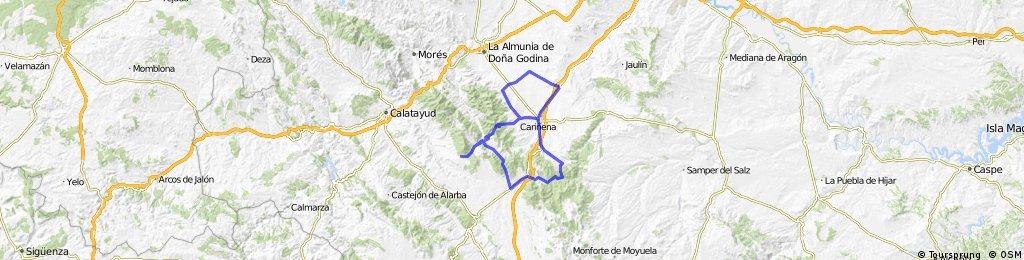 Longares - Almonacid - Aladren - Mainar - Miedes - Codos - Cariñena - Longares