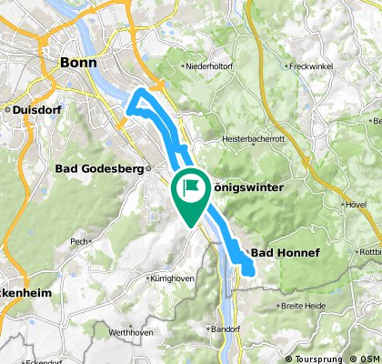 Hochkreuz bis Königswinter