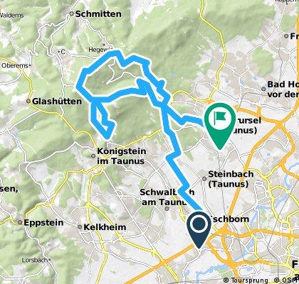 Eschborn - Großer Feldberg - Oberursel