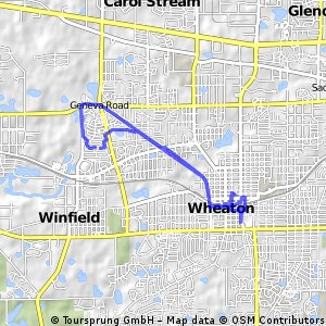 Winfield to Wheaton