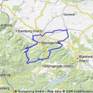 53 Km HarzrundreiseCharlottenlust - Holtemmeradweg - Derenburg