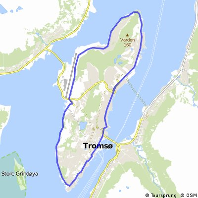 Around the Tromsøya island