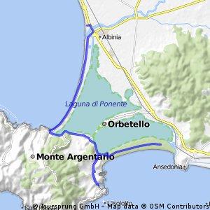 Albinia - Porto Ercole con Feniglia