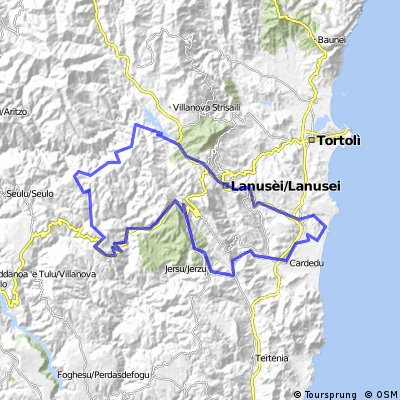 Rundfahrt Barisardo - Lago Flumendosa