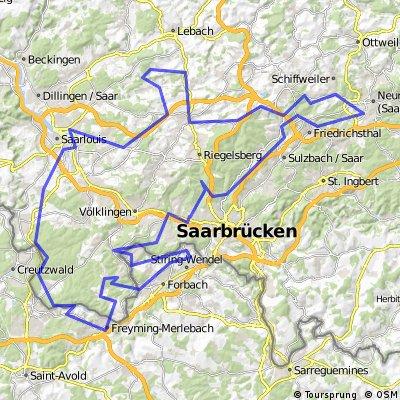 Saar Bergwerk Rundtour