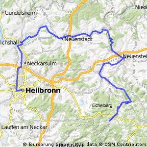 Wüstenrot - Öhringen - Heilbronn