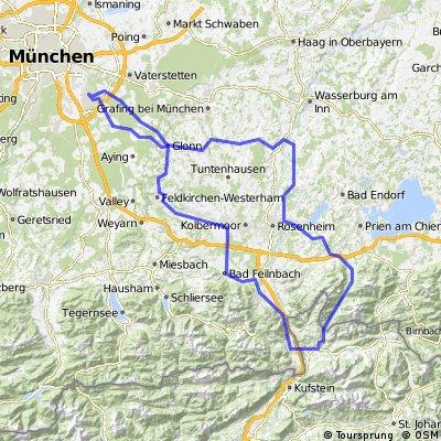 Neubiberg-Um die Kampenwand