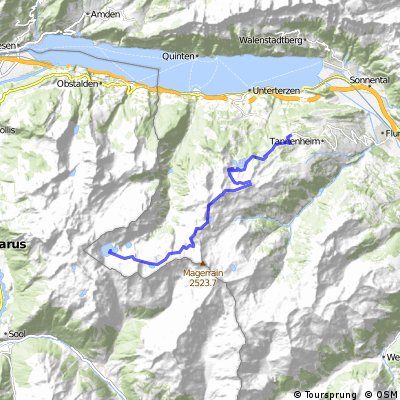 Tannenboden to Murgsee