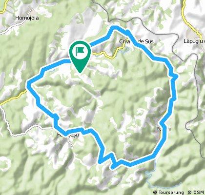 Traseu Pietroasa Country Ride 2014