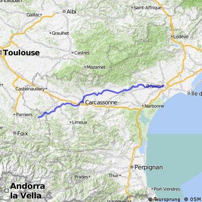 10.etapa Beziers - Carcassonne- Mirepoix