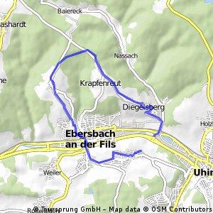 Vom Filstal auf den Schurrwald