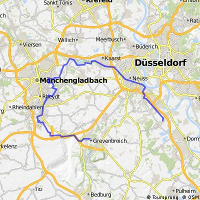 Schloss Rheydt Radtour