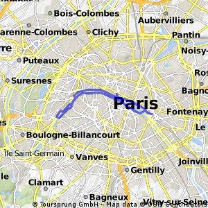 Ride PARIS URBAN CYCLING #8 : LES BERGES