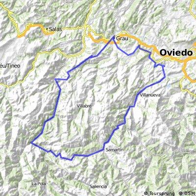 Las Caldas, valle de  somiedo, puerto de San Lorenzo, Valle de Teverga