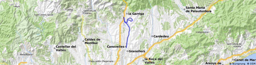 Canovelles-La Garriga-La Bovila