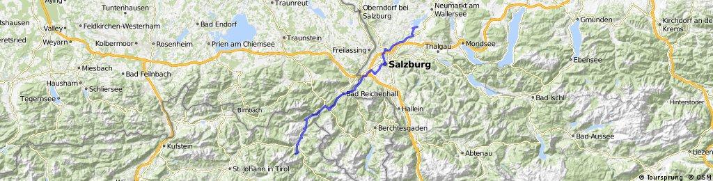 Jakobsweg Wallersee - Lofer