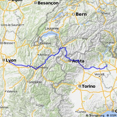 2015 Milano - Chamonix - Lyon