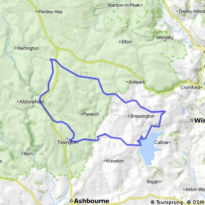Carsington Event #03   35K Bike Course