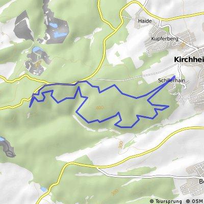 Kleine Schillerhainrunde mit Trails