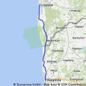 Klaipeda - Liepaja