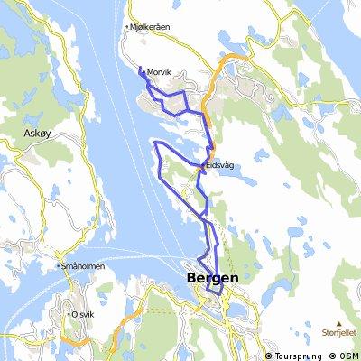 nach Bergen