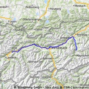 AU Imsterberg - Am Inn entlang ins Zillertag nach Zell