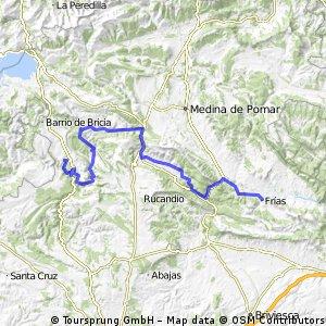 2ª Etapa: ORBANEJA del CASTILLO - FRIAS