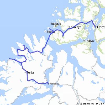 Tromsø - Kvaløya - Senja - Finnsnes - 4/5 days round trip