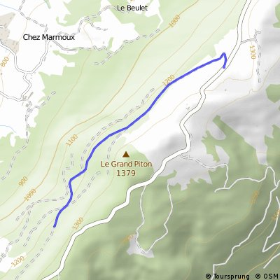 Salève et Mt Sion à VTT - variante 1
