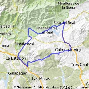 Colmenar - Moralzarzal - Soto - Colmenar