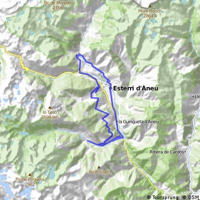 Esterri d'Àneu- Boren - Sorpe - Son - Jou - Espot -  La Guingueta d'Àneu - Esterri