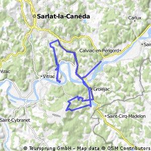 12-6-2015 Rondje in de Perigoird Noir Frankrijk