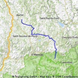 Rando Route Lozère - étape 6